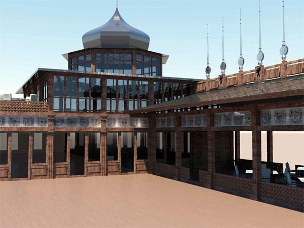 Проект восстановления буфета на набережной в Керчи
