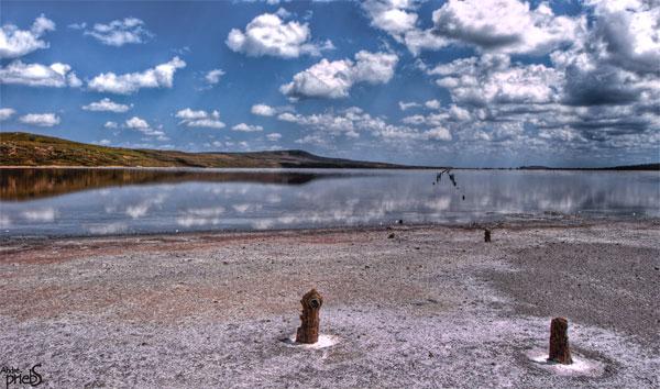 Крым, озеро Чокрак 17.6.2010 (фото Андре Прибс)
