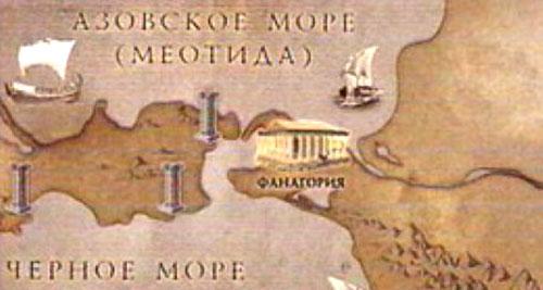 Древнегреческий город Фанагория