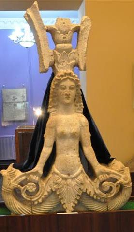 Змееногая богиня скифов