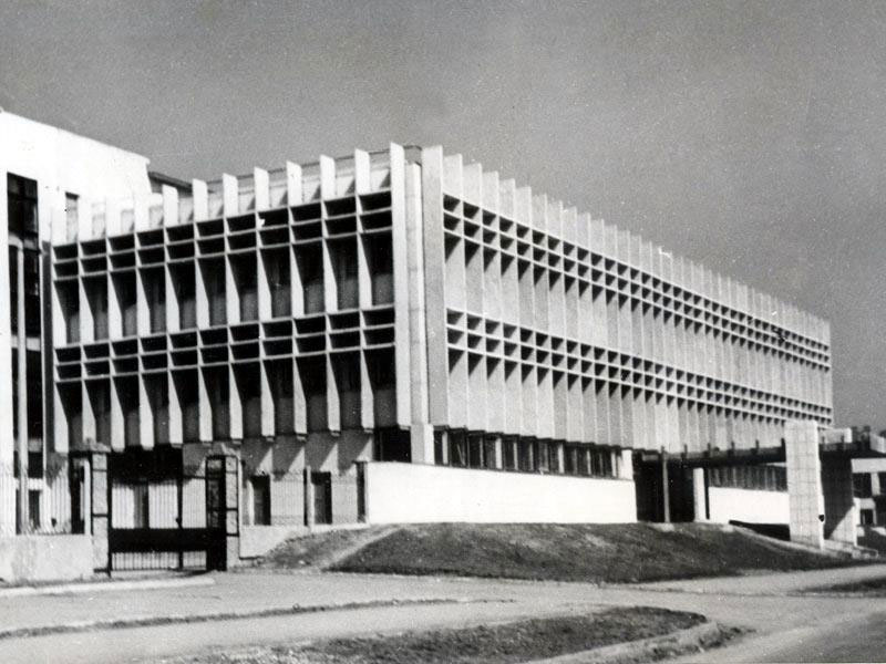 Швейная фабрика, Керчь, 1977