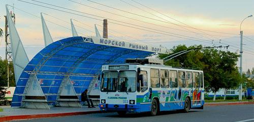 Керчь,троллейбус,история