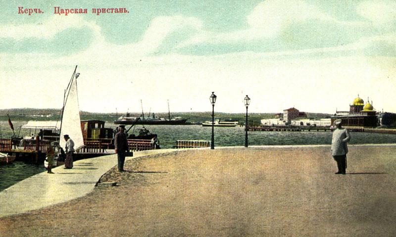 Буфет на Александровской набережной в городе Керчь