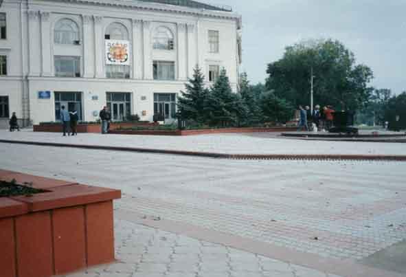 Реконструкция ул. Ленина, и площади Ленина
