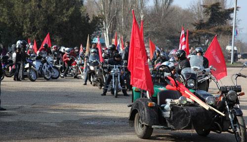 Мотопробег в честь Освободителей города-героя Керчь