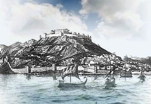 Древнегреческий город Пантикапей