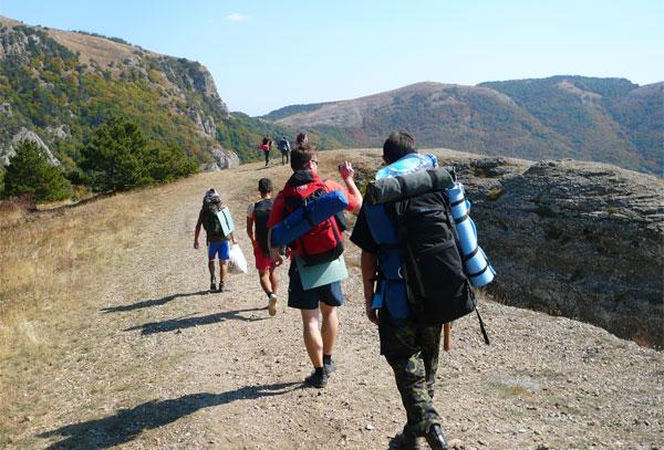 Туристические походы на майские праздники, Демерджи
