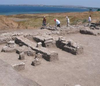 Древнегреческий город Фанагория, раскопки