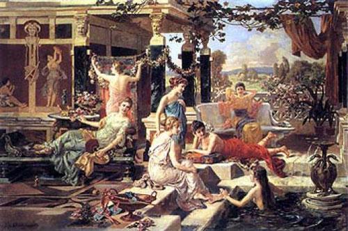 Термы, баня в древней Греции