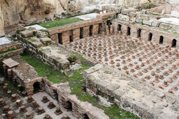 Римские термы, остатки