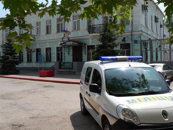 Здание Керченской милиции