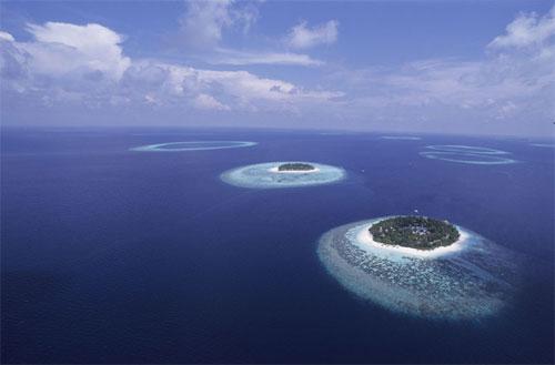 в районе Никобарских островов