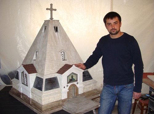 Памятник на Сапун горе в миниатюре