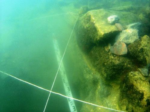 Поселение Акра - под водой, у пос. Набережное