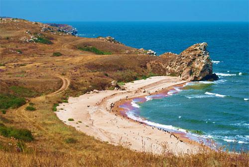 Крым, Керчь, Генеральские пляжи