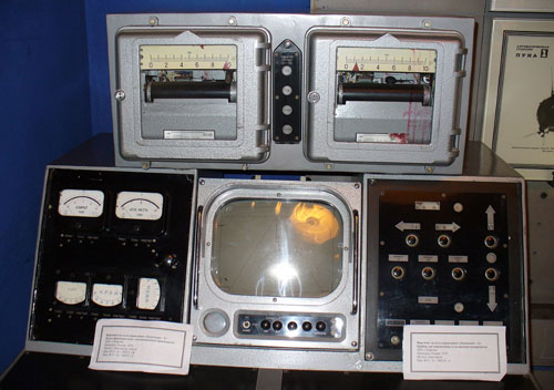 Пульт управления Луноходом-1