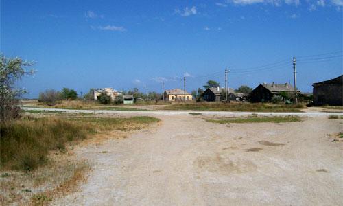 Рыбацкий поселок на Тузле