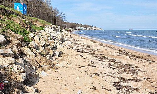 Старокарантинский пляж в Керчи