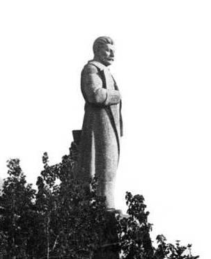 Сталин на площади Ленина в Керчи, 1930