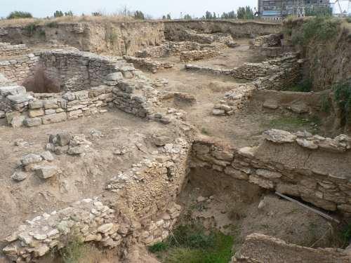 Раскопки городища Тиритака