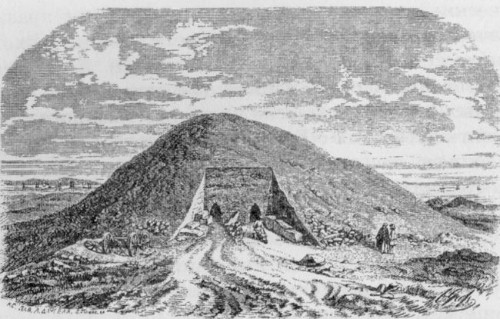 Раскопки кургана Юз-Оба