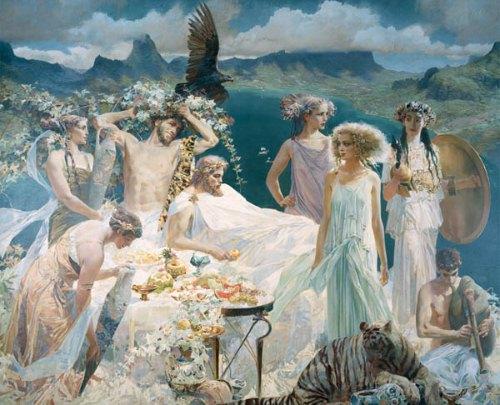 Зимние праздники древнегреческих богов