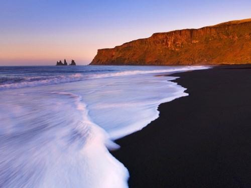 Исландия, пляж Вик
