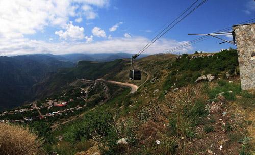 Татевская канатная дорога в Армении