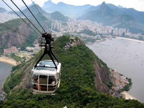 Канатная дорога в Рио-де-Жанейро