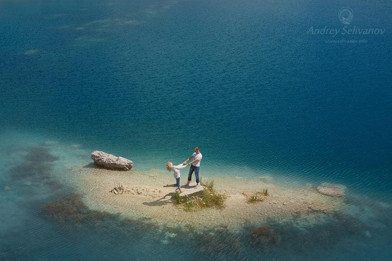 Марсианское озеро, Крым, Скалистое
