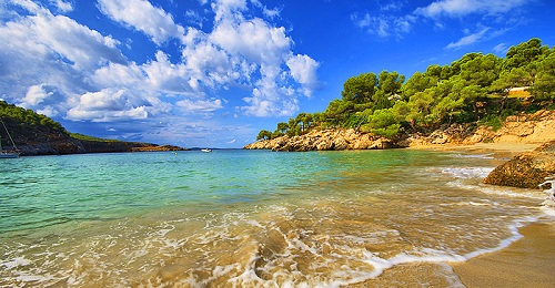 ибица-пляж