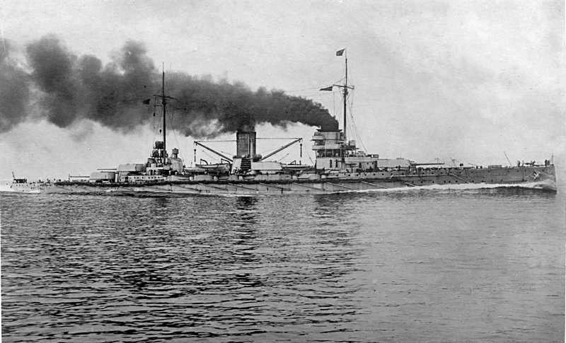 тяжелый  крейсер «Гебен»