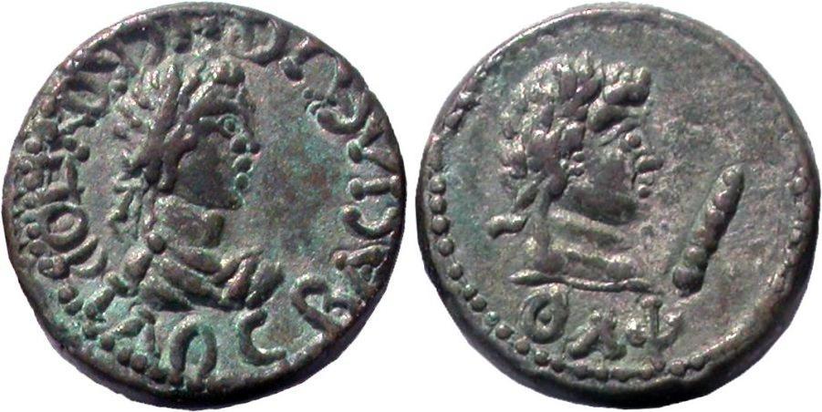 Статер, материал билон, Рискупорид IV, 242/243-276/277 гг н.э.