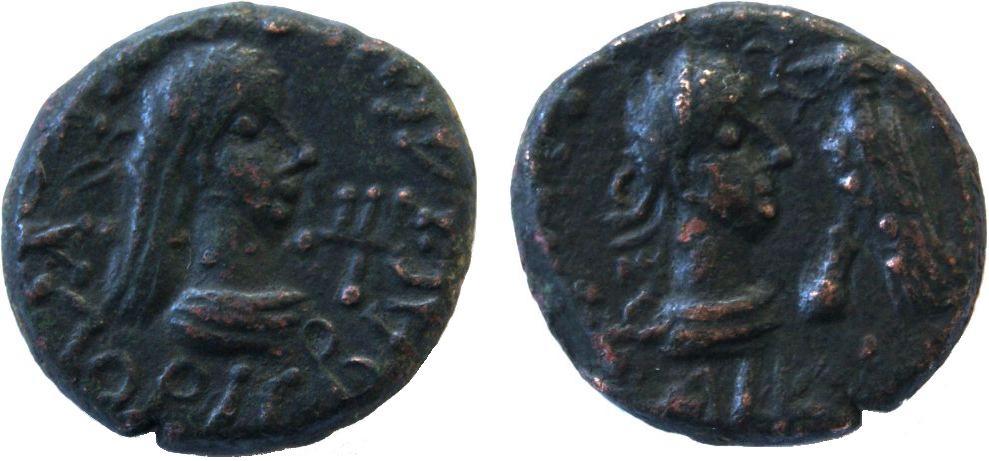Статер Рискупорид V, 318/319-336/337 гг н.э.