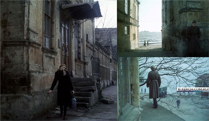 Фасады дома Домгера, кадры из фильма «Звездопад», 1981 год