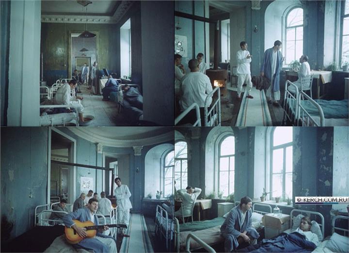 Овальная зала на втором этаже дома Домгера, кадры из фильма «Звездопад», 1981 год