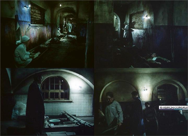 Подвальные помещения дома Домгера, кадры из фильма «Звездопад», 1981 год