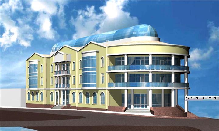 Предпроектное предложение А. А. Сальникова-младшего, выполненное по заказу предпринимателя Павловского, 2007 год