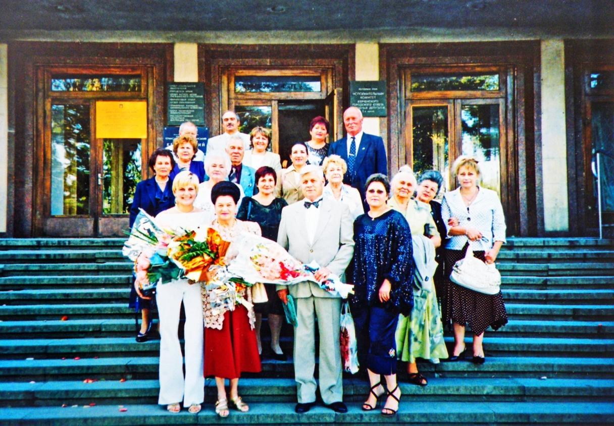80-летний юбилей Н.Т.Китикова, Керчь, 2011 год.